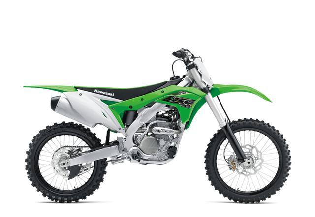画像: KX250は外装を19モデルに