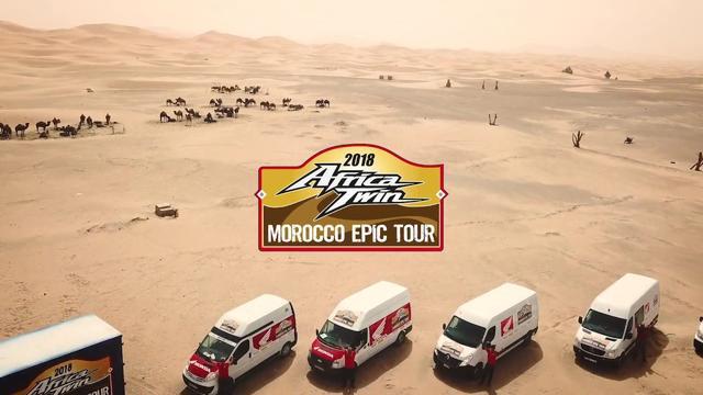 画像: ÉXITO DE LA II EDICIÓN DEL AFRICA TWIN MOROCCO EPIC TOUR youtu.be