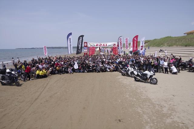画像1: バイクイベントとしては異例の3000台が集合