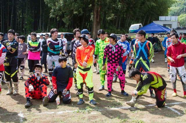画像: ハードエンデューロを中心に活動する20代のチーム、FUNAI RACING。