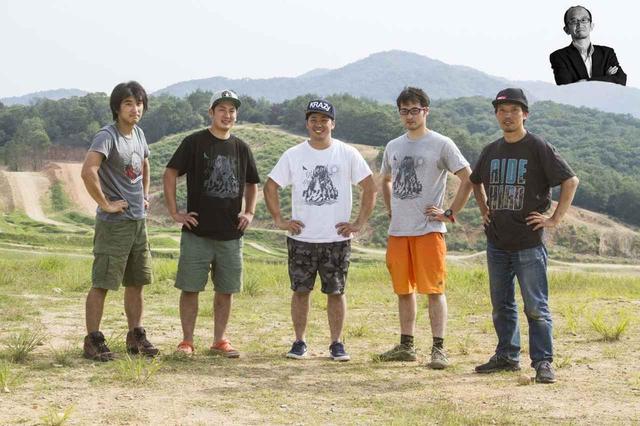 画像: 今年は日本人ライダー6名が参加