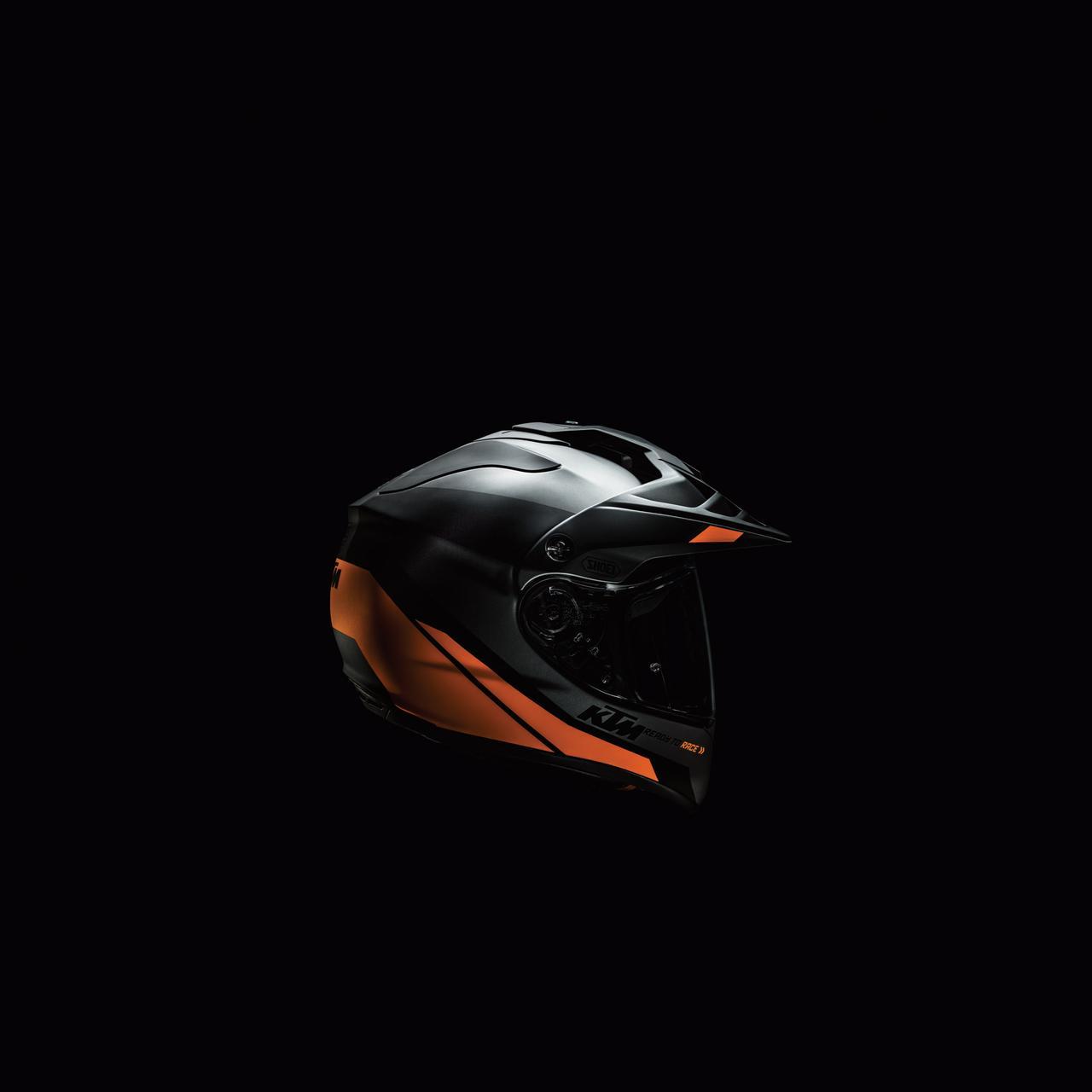 画像5: KTM ADVシリーズとの相性抜群、SHOEIホーネット