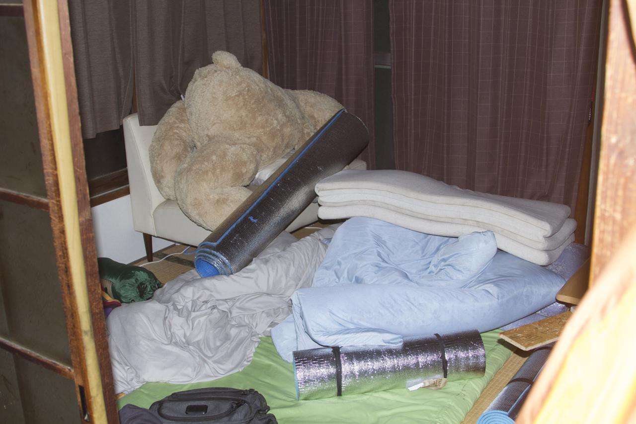 画像: 仮眠室