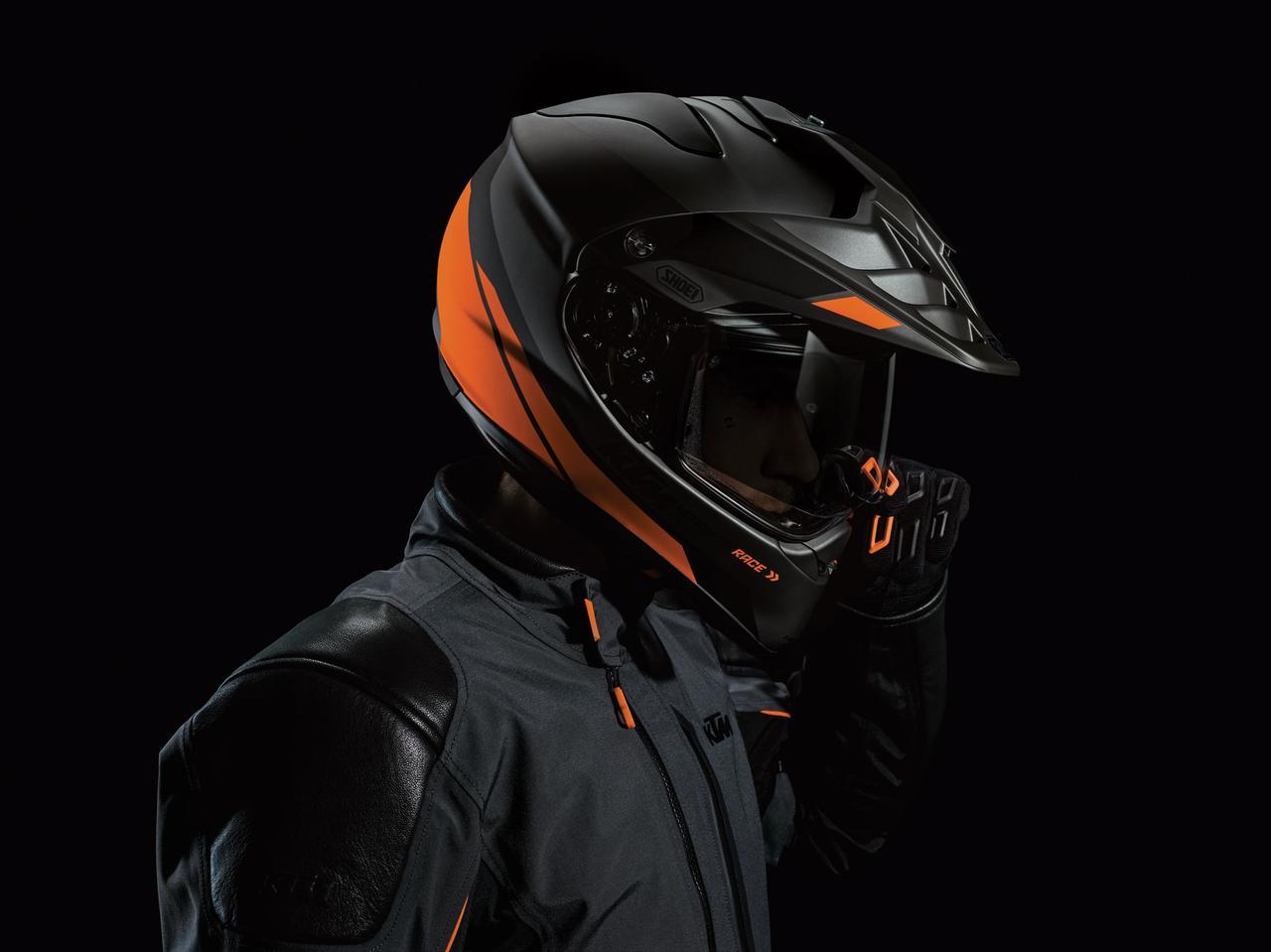 画像1: KTM ADVシリーズとの相性抜群、SHOEIホーネット