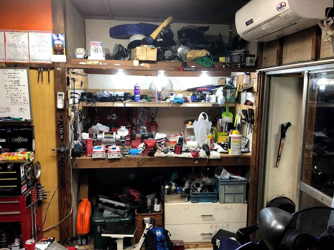 画像1: 作業台や設備も充実