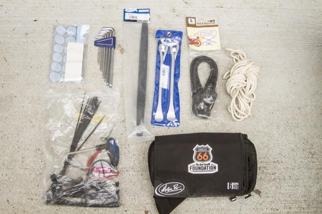 画像1: 使いやすさと携帯性を考慮した工具類