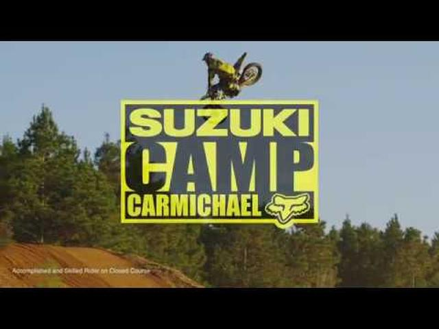 画像: Suzuki RM Army presents Camp Carmichael youtu.be