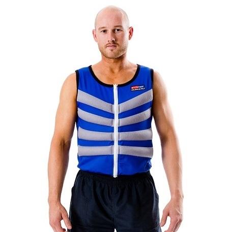 画像: Blue Cooling Vest - Arctic Heat - High Tech Cooling Vests