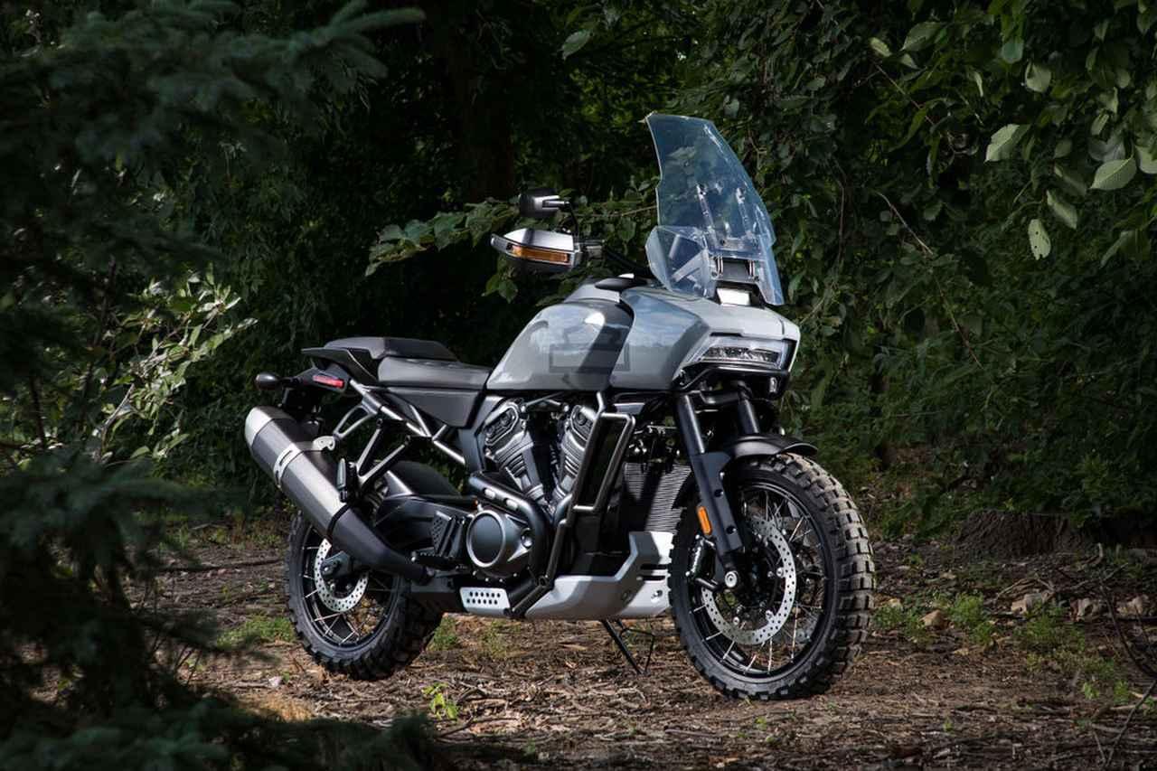 画像: Pan America 1250 adventure bike