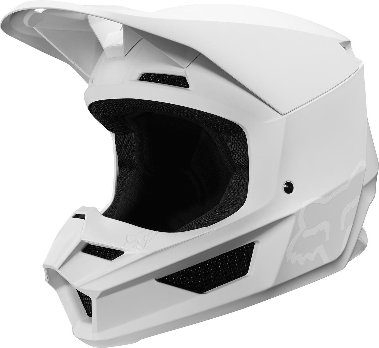 画像: FOX新型のヘルメット、バイザーがマグネットで固定される
