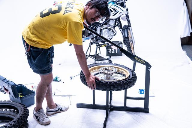 画像1: タイヤはVE33sゲコタではっきりいってズルをする