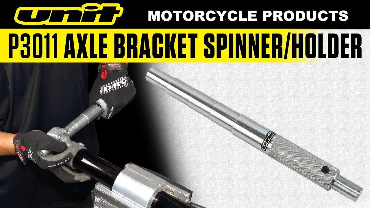 画像: P3011 Axle Bracket Spinner/Holder www.youtube.com