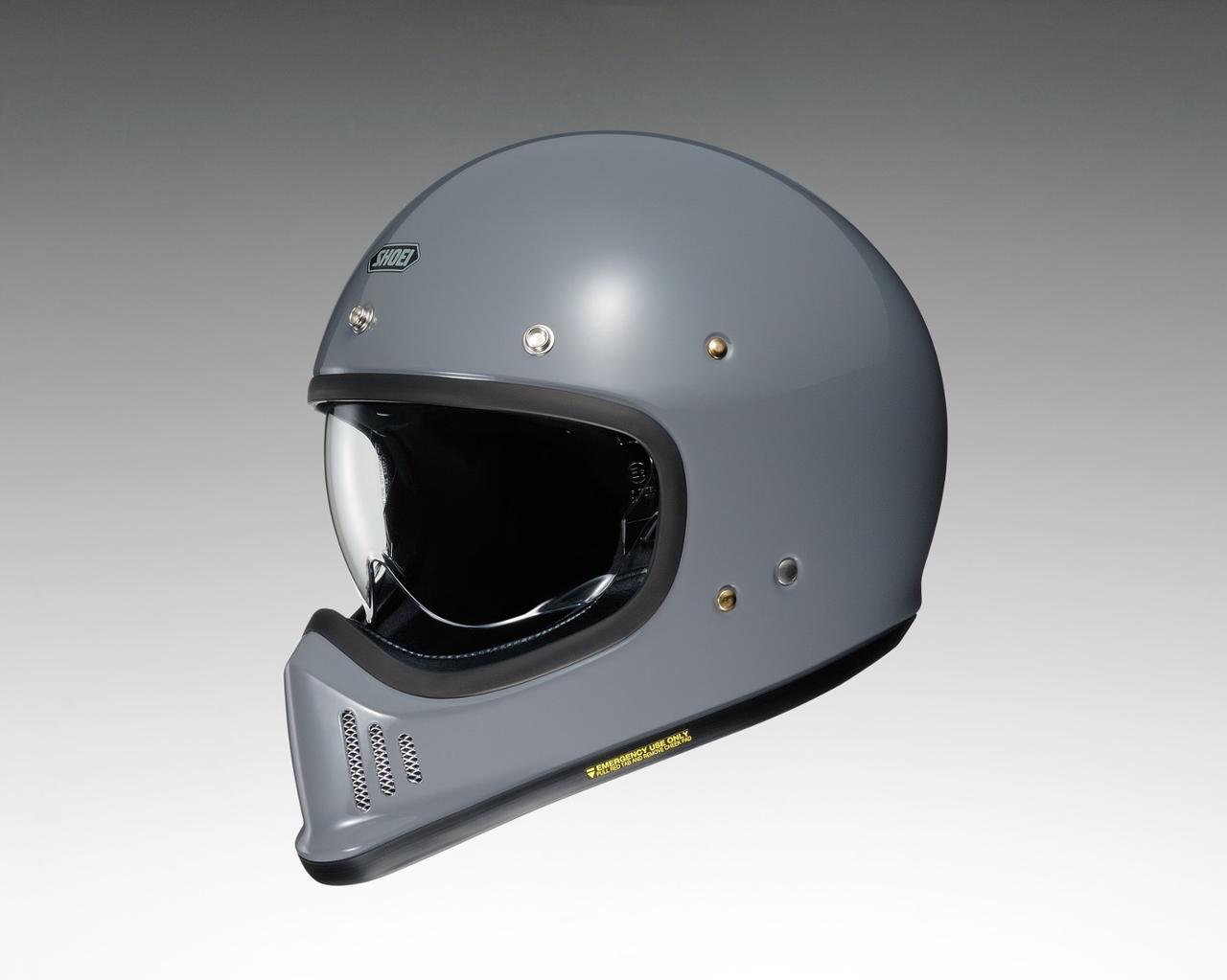 画像: 待ち望まれたビンテルックのオフロードヘルメット、SHOEIからデビュー