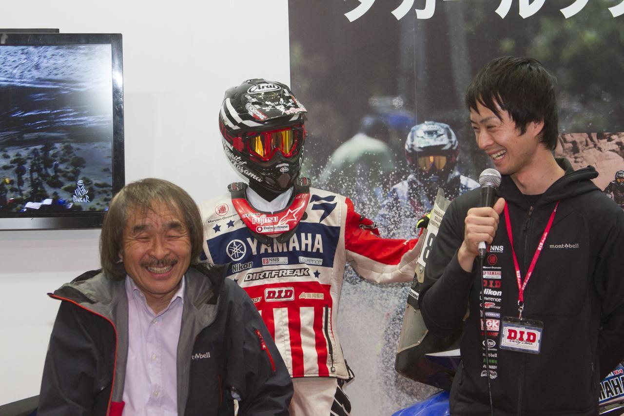 画像: 写真は東京モーターサイクルショー2017のD.I.Dブーストークショーの様子