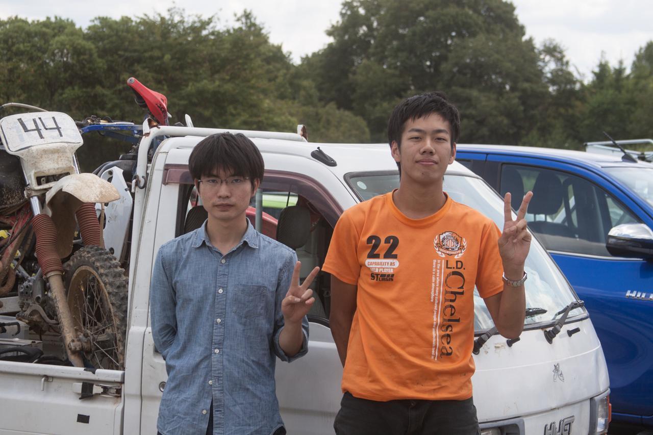 画像1: 山口県から参加、山口東京理科大学二輪部