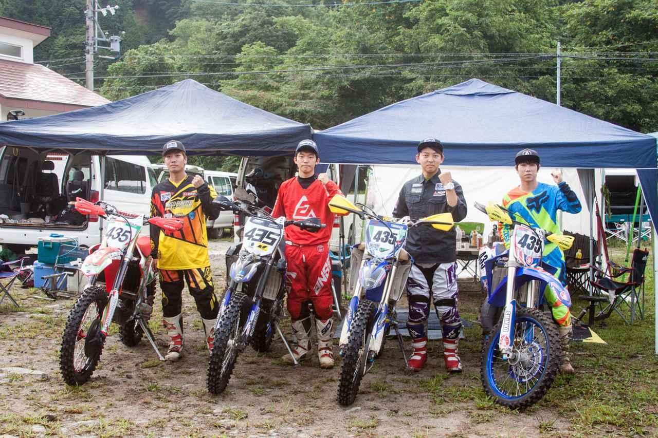 画像: 日本人トップはJNCCで育った平均年齢18.5歳の若手チーム