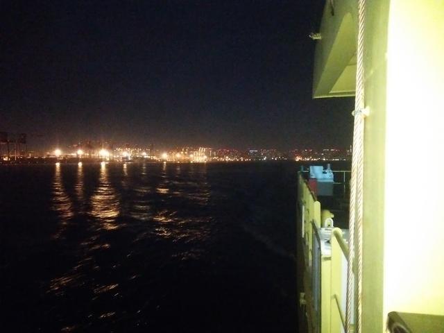 画像: 船旅でテンションあがりまくり