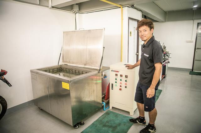 画像2: 日本と同クオリティの作業場を、タイへ持ち込んだ
