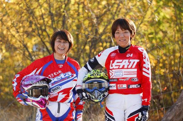 画像: 菅原聖子と増田まみが、チャレンジ