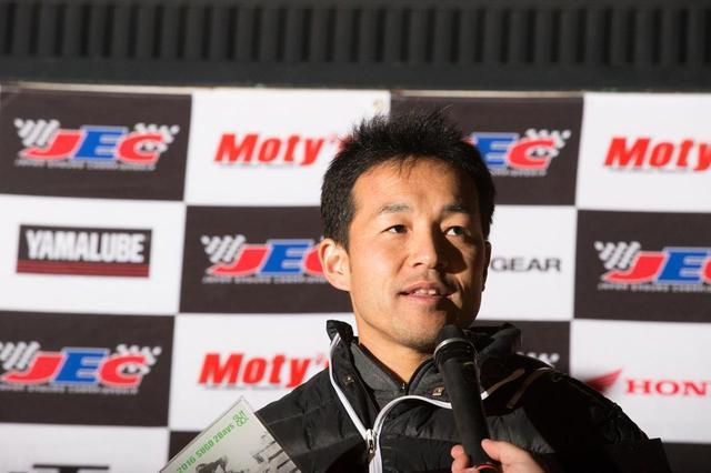 画像1: 全日本モトクロスV3王者、熱田孝高