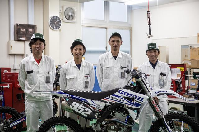 画像2: 類を見ないチーム「GOSHI Racing」