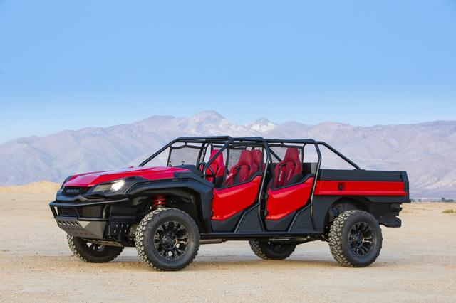 画像3: Honda Rugged Open Air Vehicle Concept