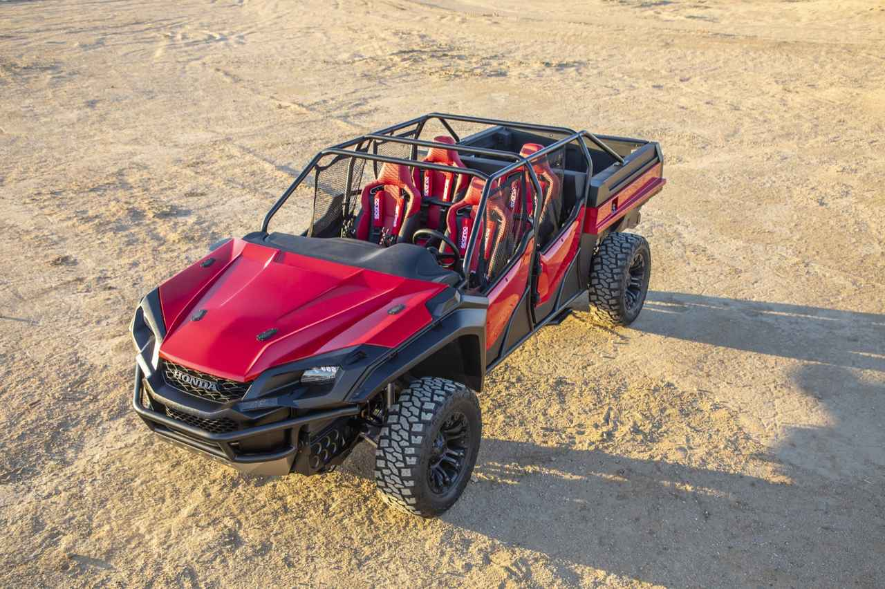Images : 5番目の画像 - Rugged Open Air Vehicle Concept - Off1.jp(オフワン・ドット・ジェイピー)