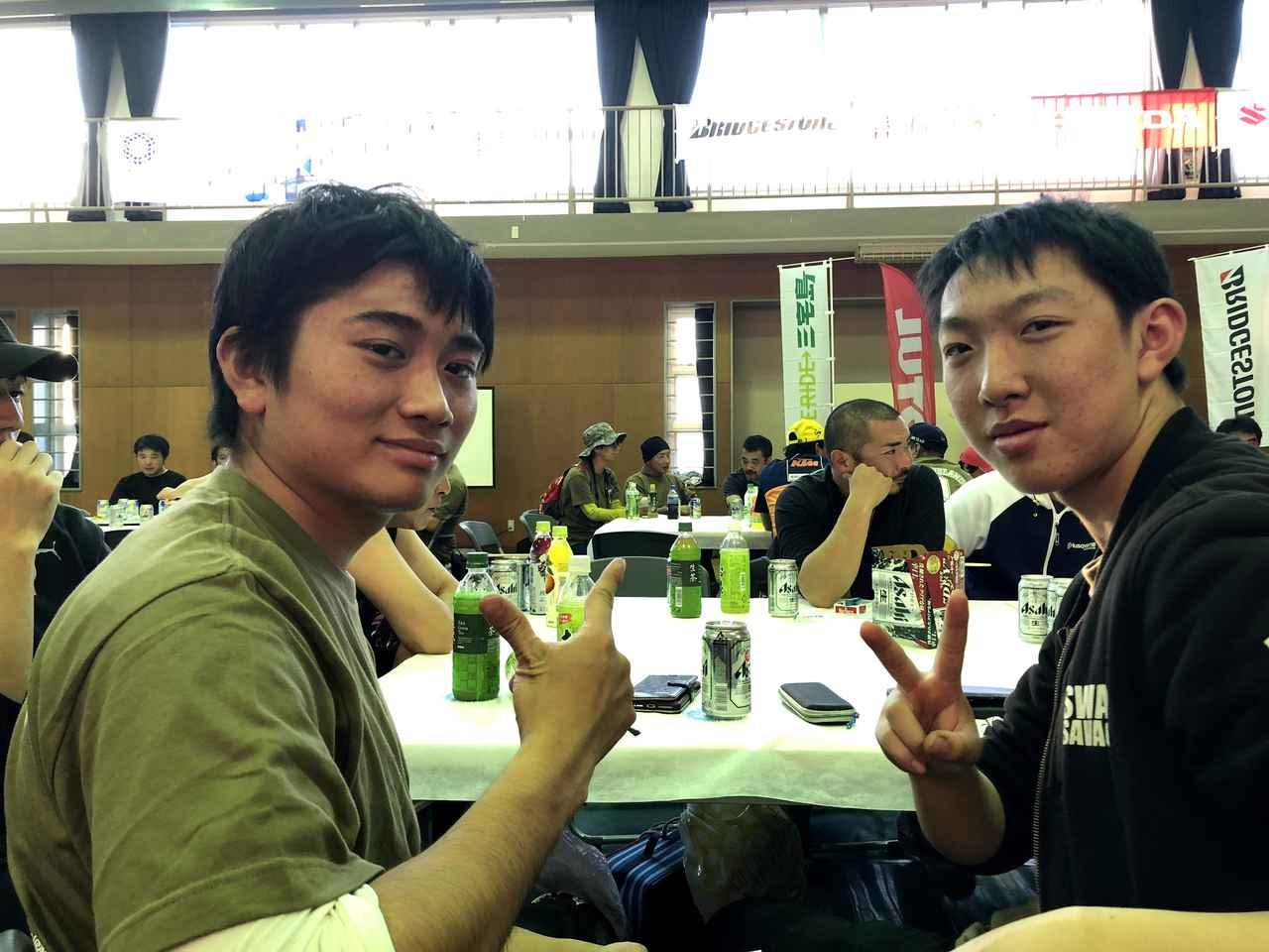 画像: 坂井俊介さん(20歳)、田中大貴さん(19歳)/東京工芸大学