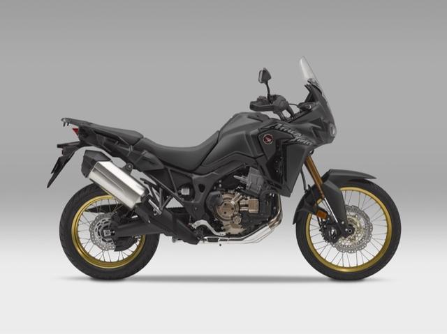 画像: Honda CRF1000L Africa Twin マットバリスティックブラックメタリック