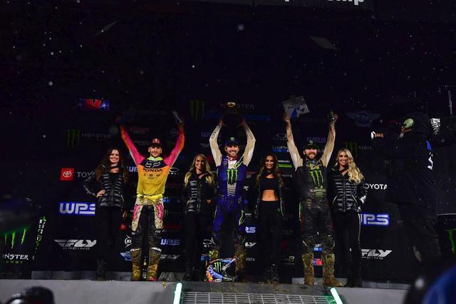 画像2: 450SX チャンピオン・アンダーソンを抑えてJ・バーシアが2013年以来の優勝