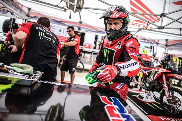 画像: ホンダのエース、J・バレダがトップタイム。KTM勢は慎重な立ち上がり