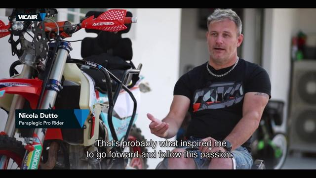 画像: Nicola Dutto's amazing story: Riding the Dakar Rally when you're paraplegic? Yes, you can! youtu.be