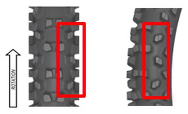 画像3: ダンロップから新作エンデューロタイヤ、大エアボリュームで新機軸