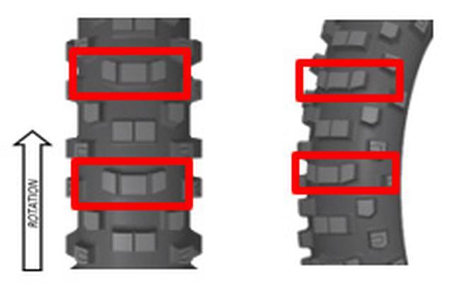 画像4: ダンロップから新作エンデューロタイヤ、大エアボリュームで新機軸