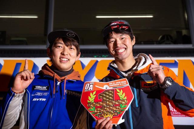 画像: JEC2018 IBチャンピオンの保坂修一(写真左)、 IAチャンピオンの前橋孝洋(写真右)