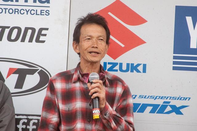 画像: 神馬健は61歳、若い頃からエンデューロに打ち込んできたライダー
