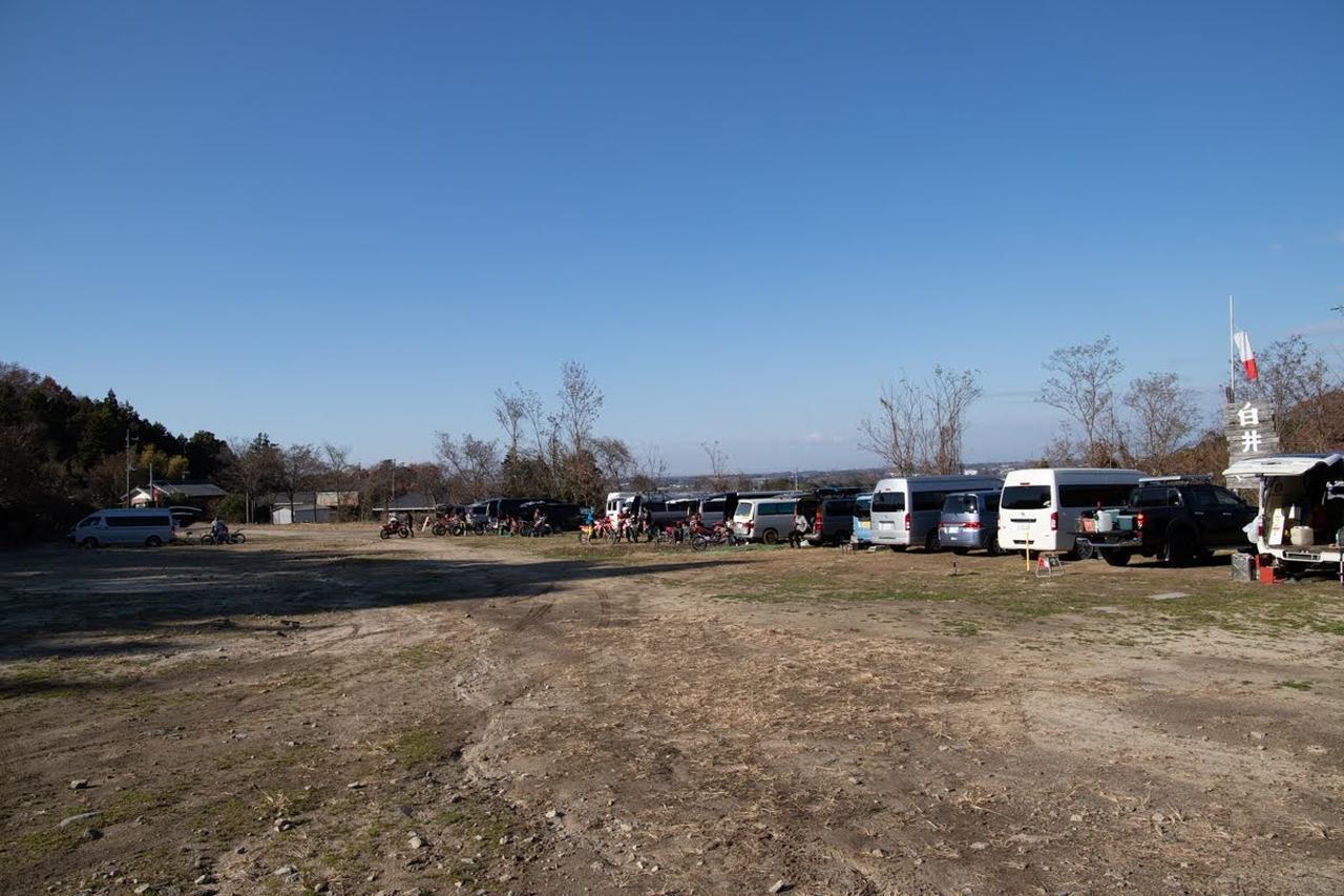 画像1: 駐車場の空ぶかし禁止