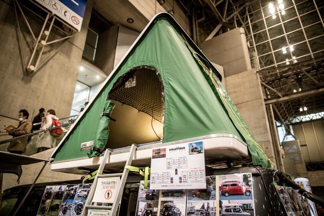 画像: トランポの「屋根で寝る」って選択肢、大いにアリでは