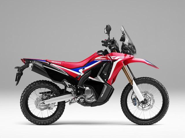 画像: Honda CRF250RALLY(エクストリームレッド)