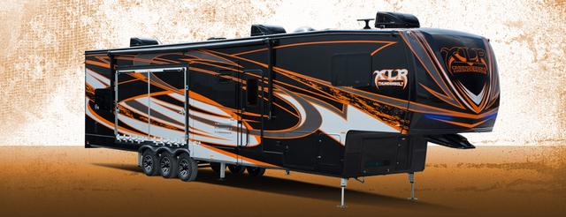 画像: XLR Thunderbolt Toy Haulers by Forest River RV