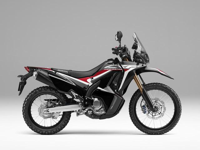 画像: Honda CRF250RALLY(ブラック)