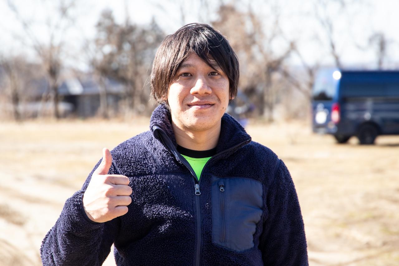 画像: 関口健太郎さん(FUNAI RACING)