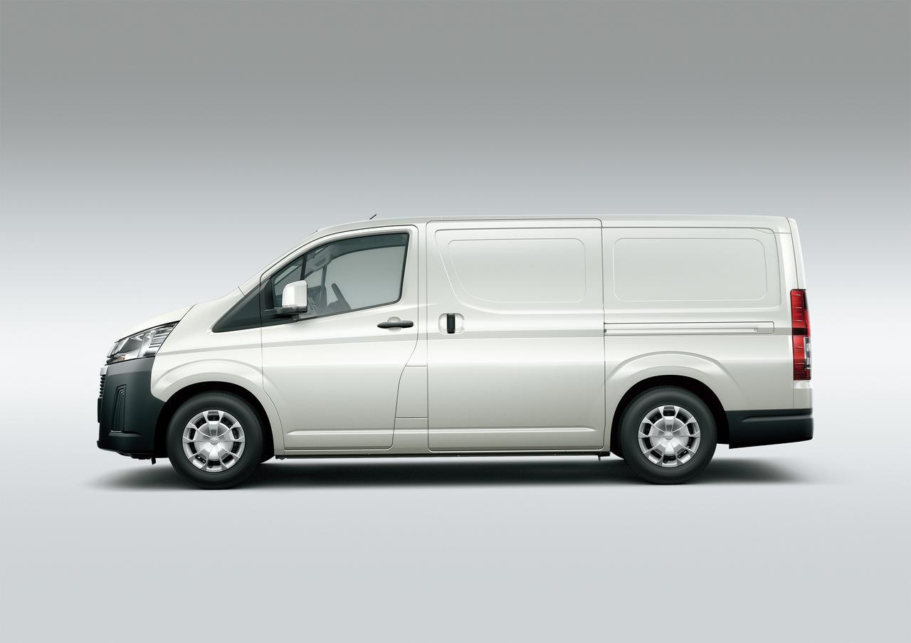 Images : 1番目の画像 - 「ハイエース新型、正式発表。2.8D・3.5Gでロングボディは全長5915mm」のアルバム - Off1.jp(オフワン・ドット・ジェイピー)