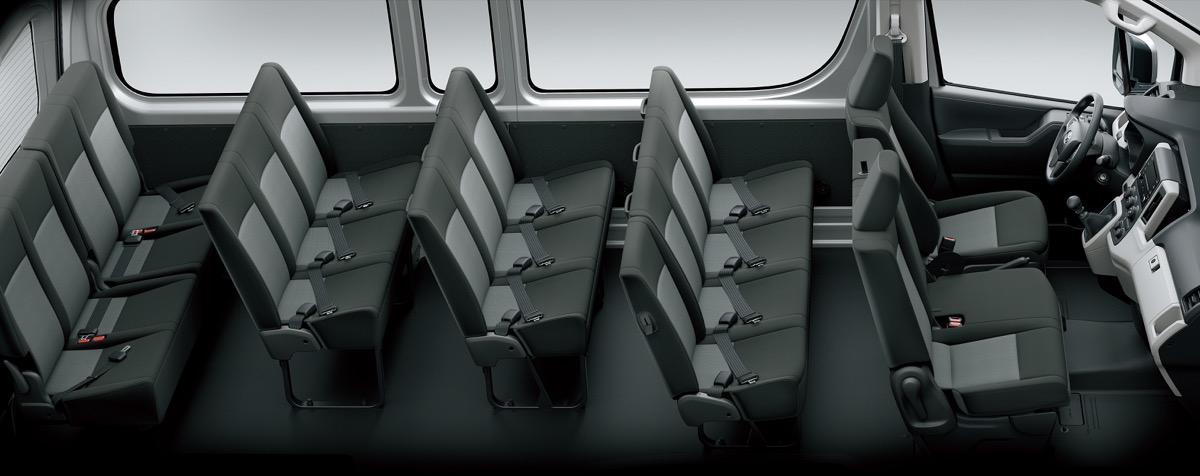 Images : 5番目の画像 - 「ハイエース新型、正式発表。2.8D・3.5Gでロングボディは全長5915mm」のアルバム - Off1.jp(オフワン・ドット・ジェイピー)