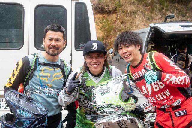 画像: 左から鈴木友也、DAICE、河村広志(敬称略)