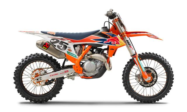 画像: KTM 450SX-F HERLINGS REPLICA
