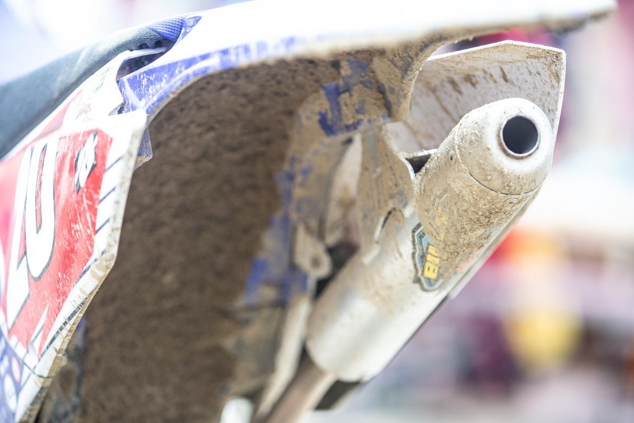 画像: 馬場は、ビルズパイプのサイレンサーを使用。