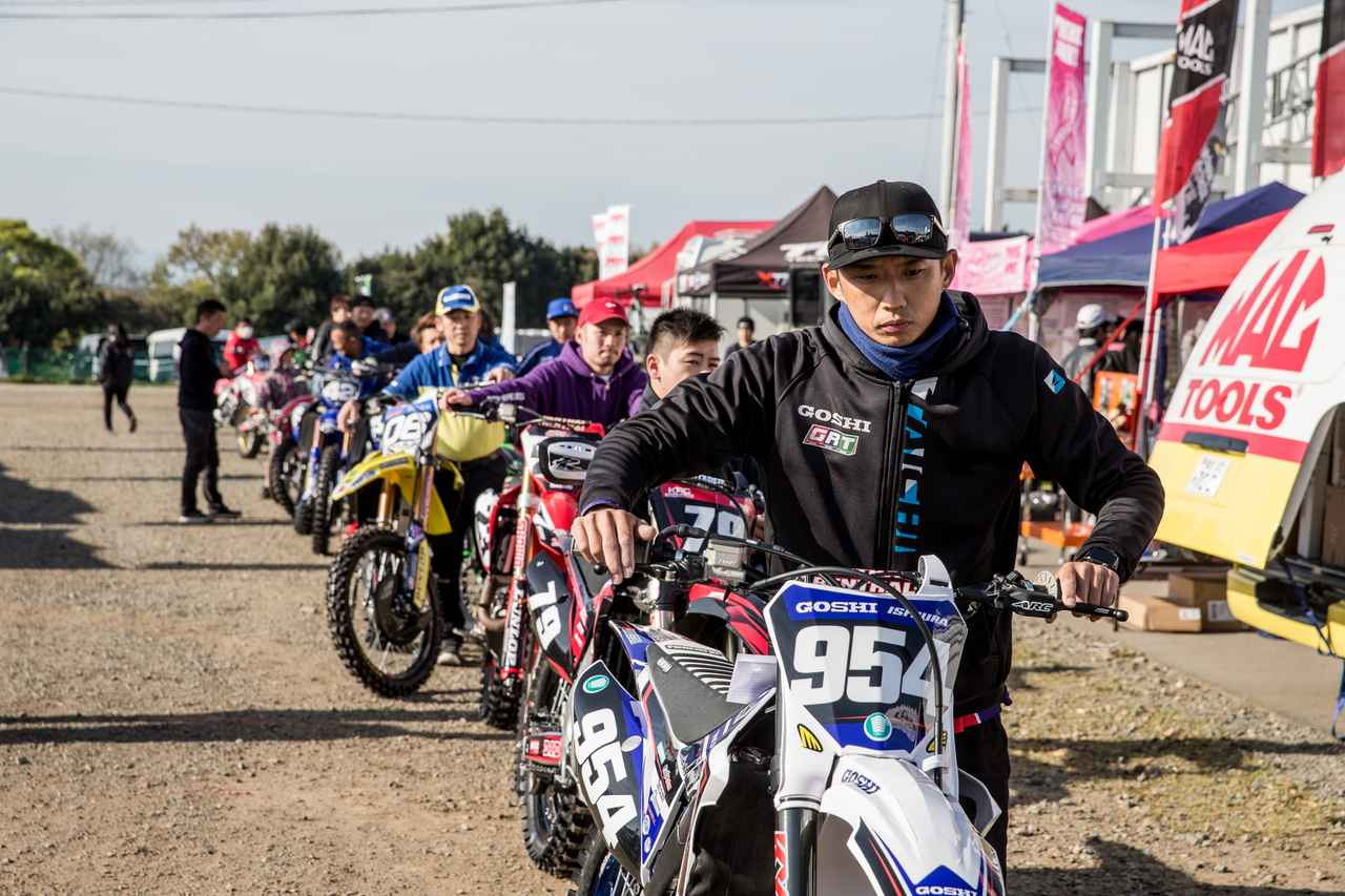 画像1: GOSHI Racing story 「全日本モトクロス開幕、課題が見えた1戦」