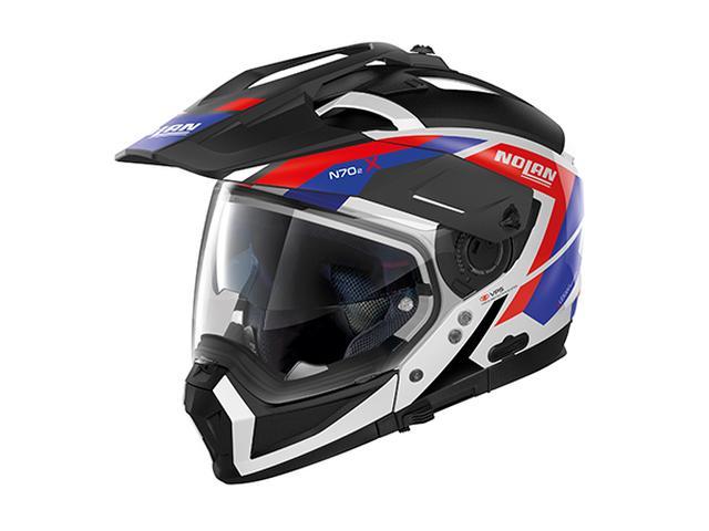 画像1: アゴが外れる、変形オフロードヘルメット