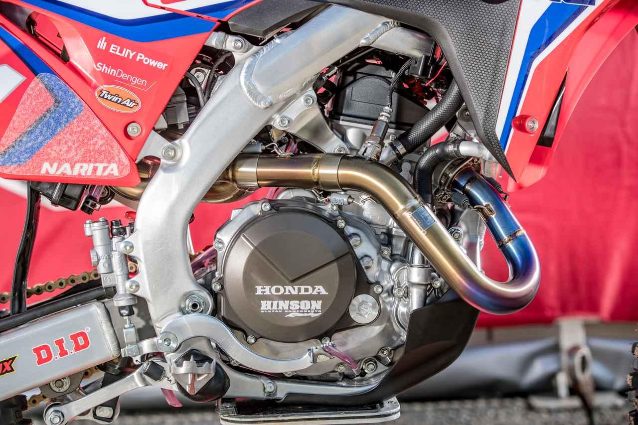画像4: #114 成田亮 Honda CRF450RW